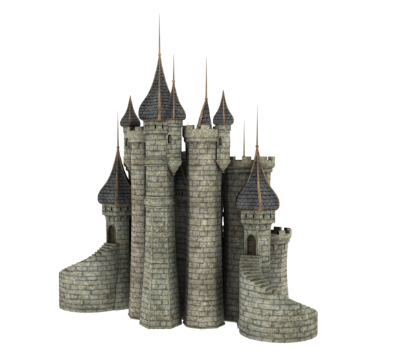 Fantasy Castle PNG File - Castle PNG