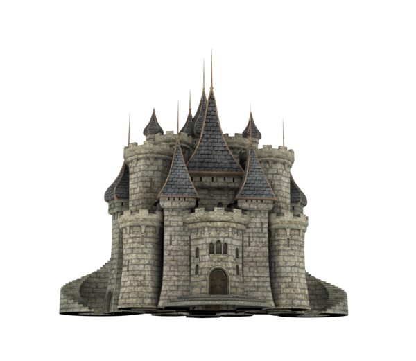 Fantasy Castle PNG HD - Castle PNG