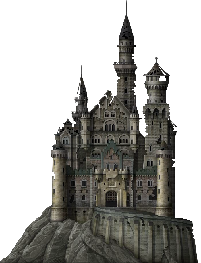 Haunted Castle.png - Castle PNG