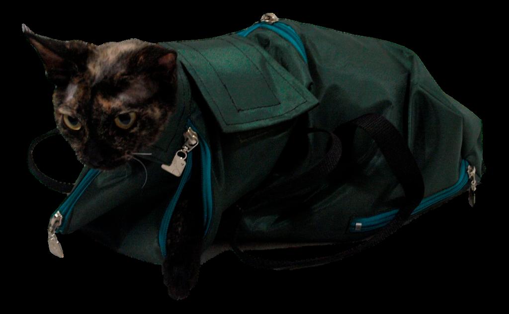 cat immobilizing bag - Cat In A Bag PNG