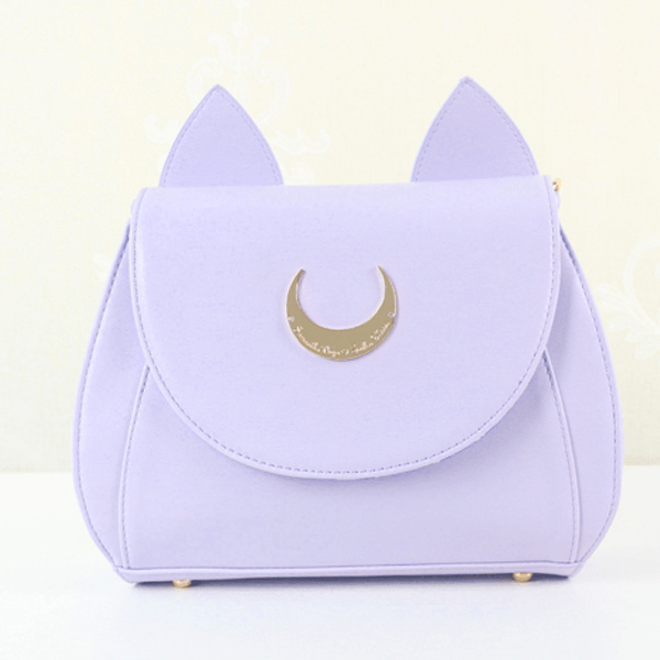 Sailor Moon Luna and Artemis Cat Moon Bag SD00377 - Cat In A Bag PNG