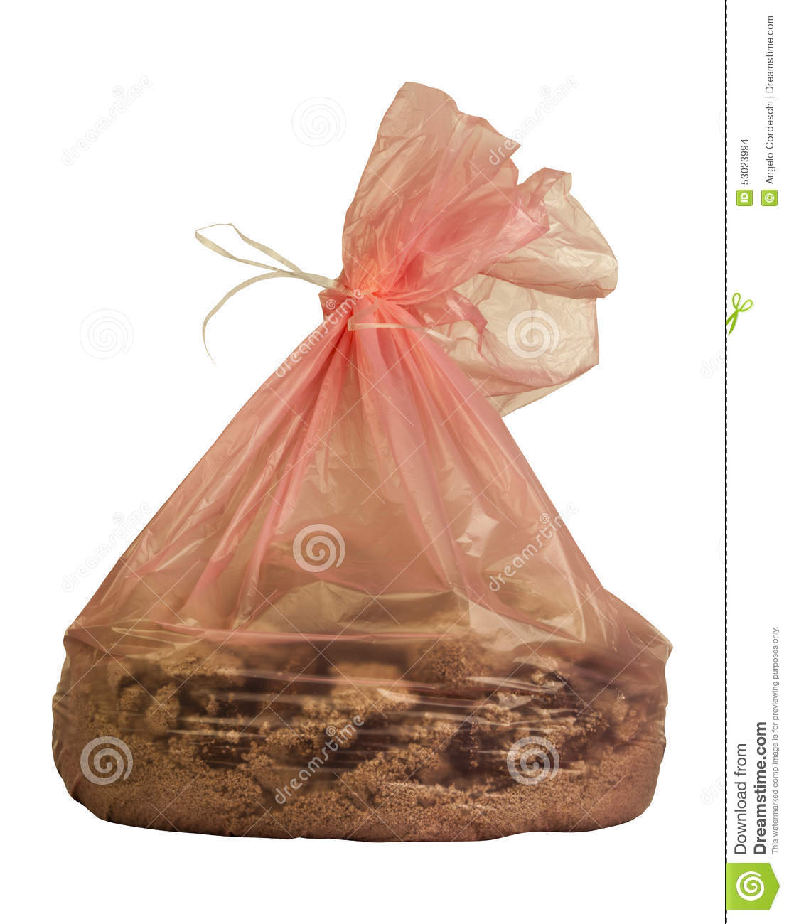 Waste bag of cat litter - Cat In A Bag PNG