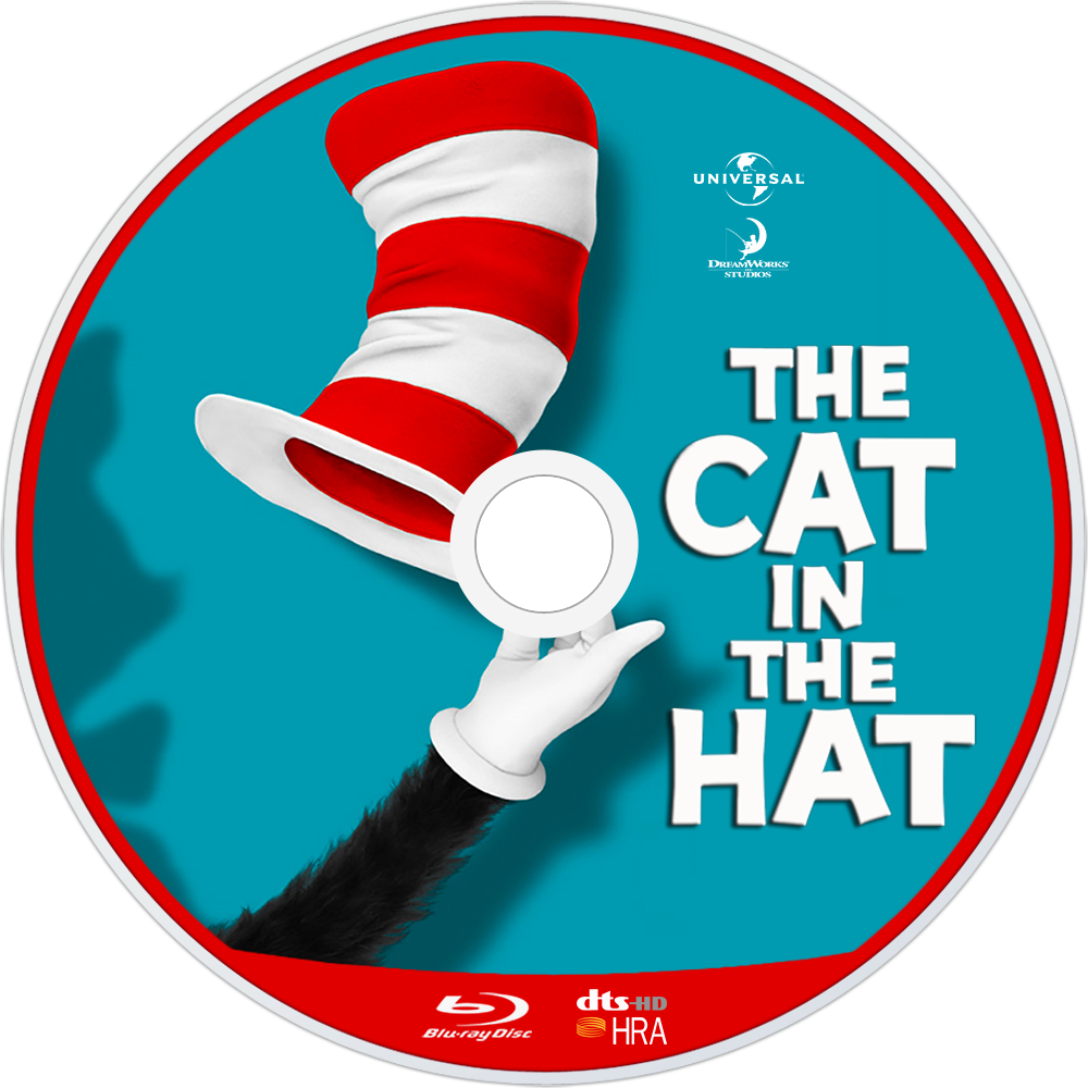 1 - Cat In The Hat PNG HD