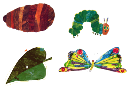 Caterpillar Into Butterfly PNG - 157059