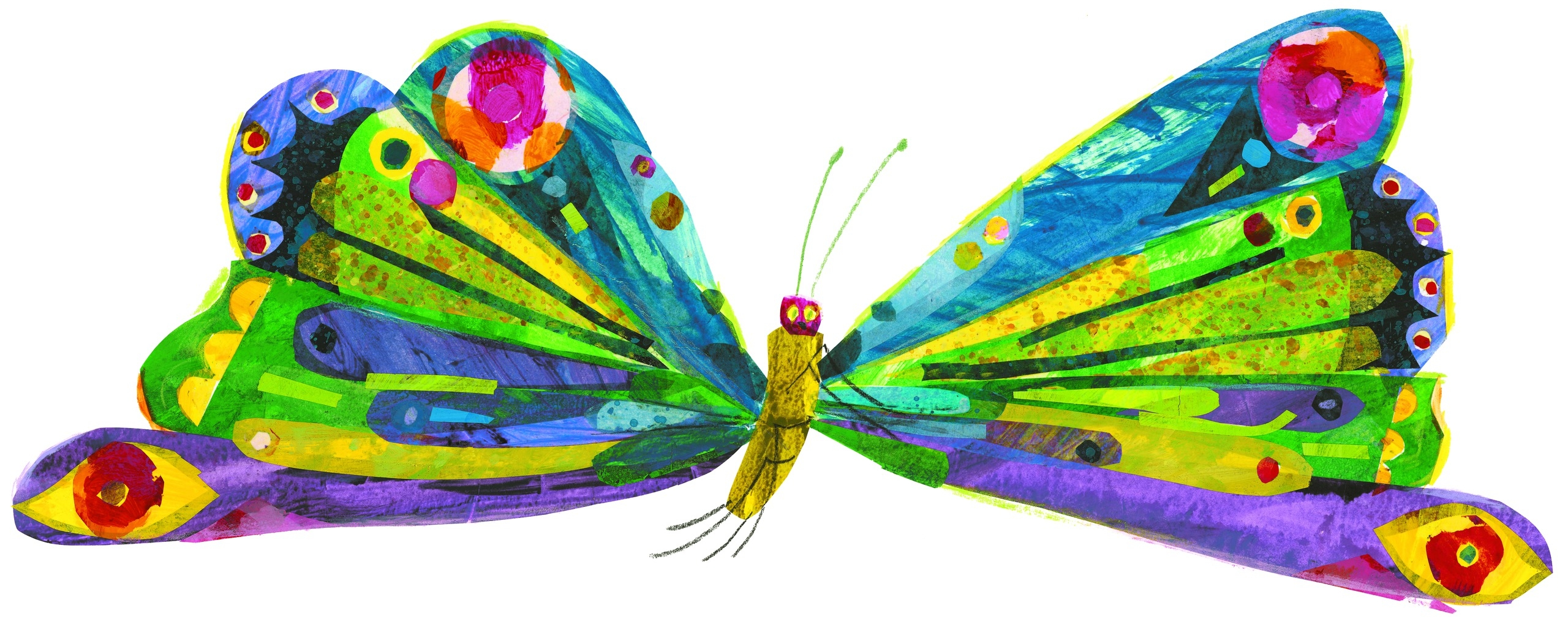 Caterpillar Into Butterfly PNG - 157057