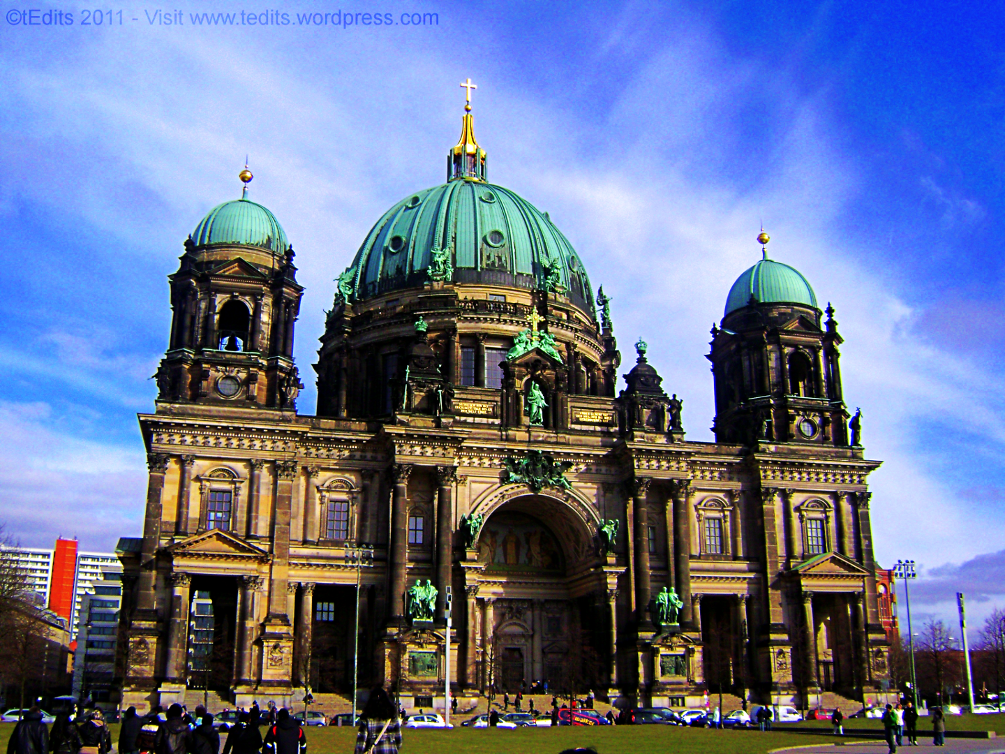 Berlin Cathedral - Cathedral HD PNG