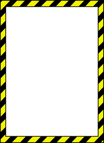 Caution Tape PNG Border
