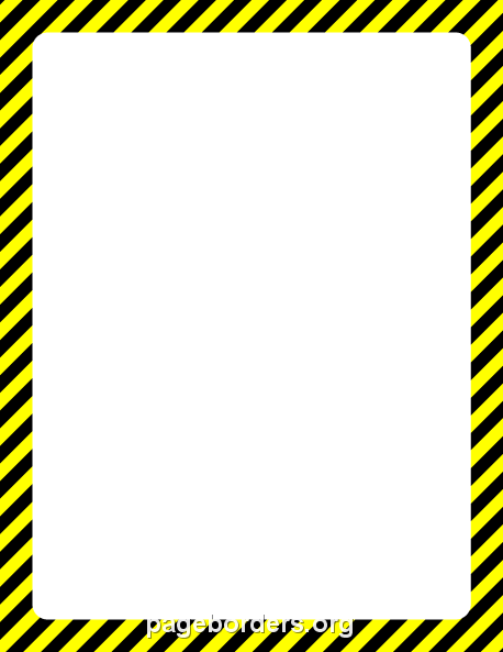 Free hazard border templates including printable border paper and clip art  versions. File formats include GIF, JPG, PDF, and PNG. Vector images are  also PlusPng.com  - Caution Tape PNG Border
