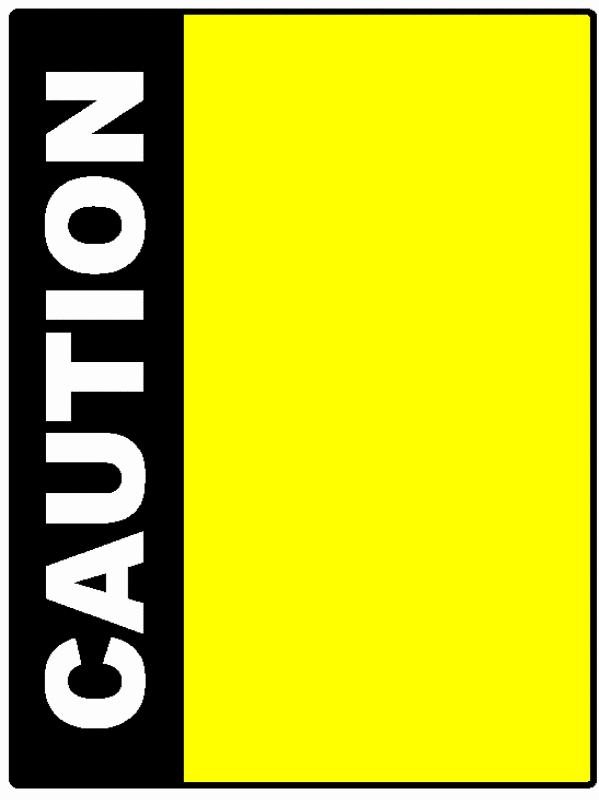pin construction border clip art #7 - Caution Tape PNG Border