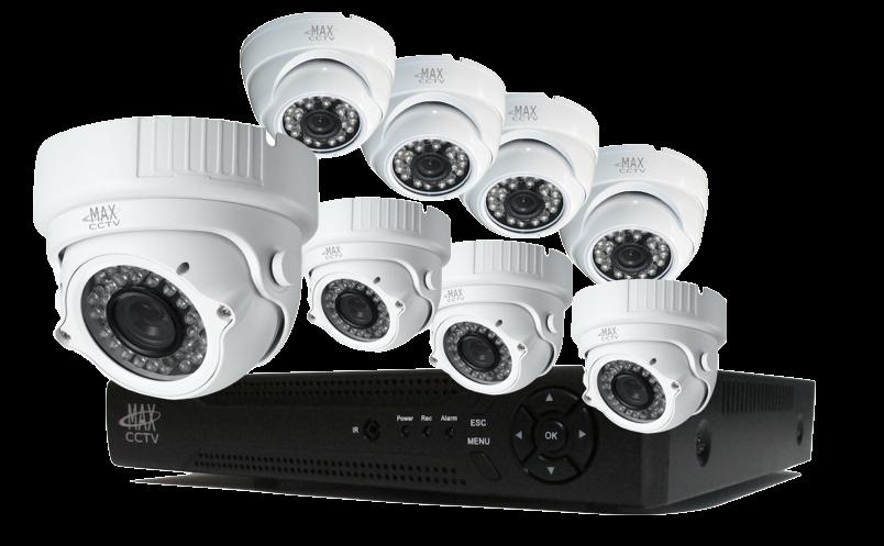 MAX-PLEX8TK3 8 Camera HD-TVI
