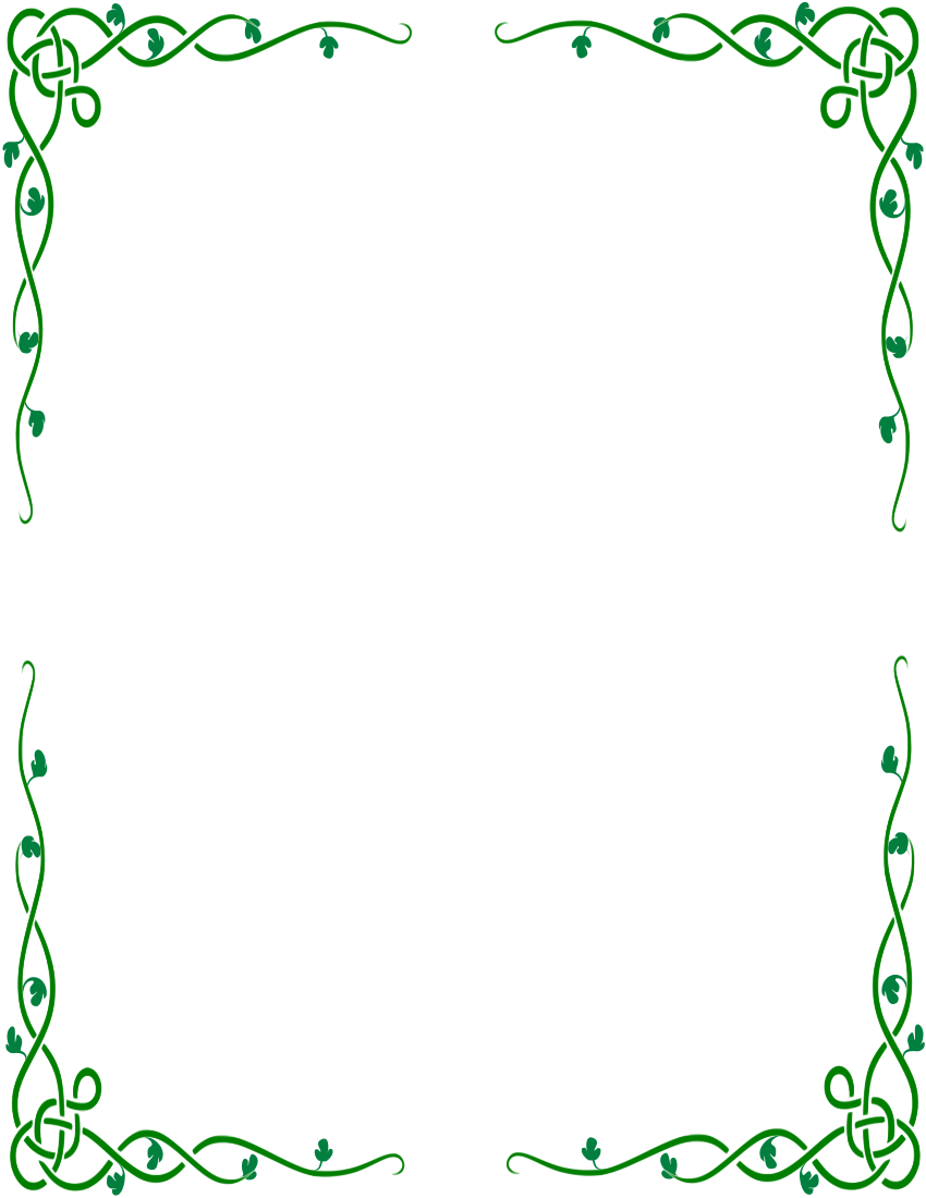 Celtic Border PNG HD-PlusPNG.com-850 - Celtic Border PNG HD