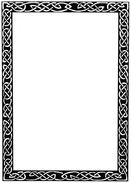 Celtic Borders Free Clip Art - Clipart library - Celtic Border PNG HD