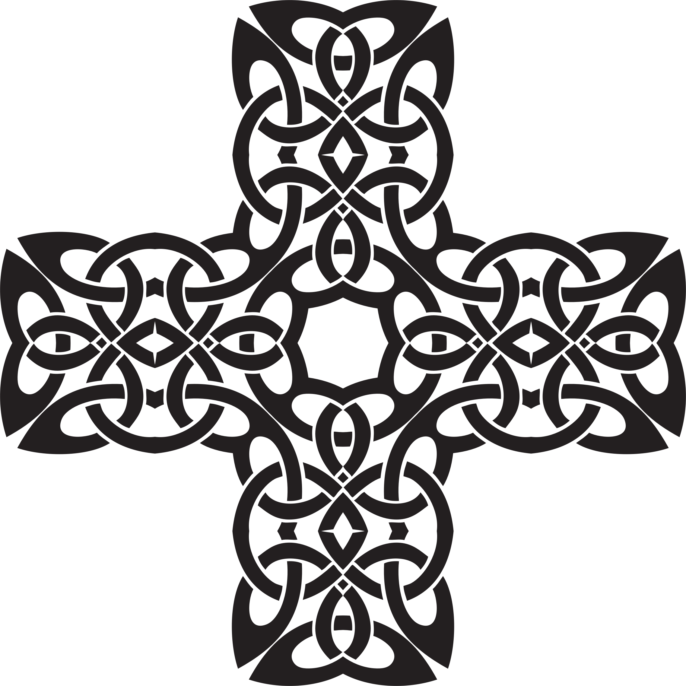Celtic Knot Cross - Celtic Knot PNG