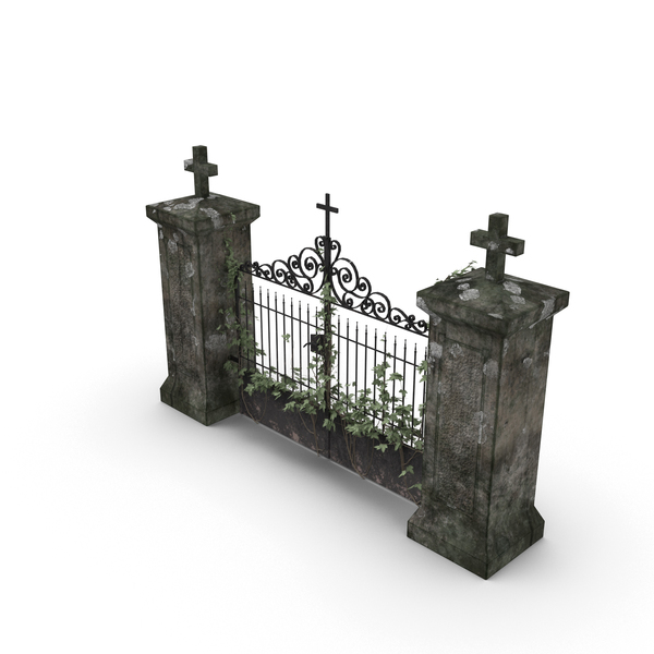 Cemetery Gate - Cemetery Gates PNG