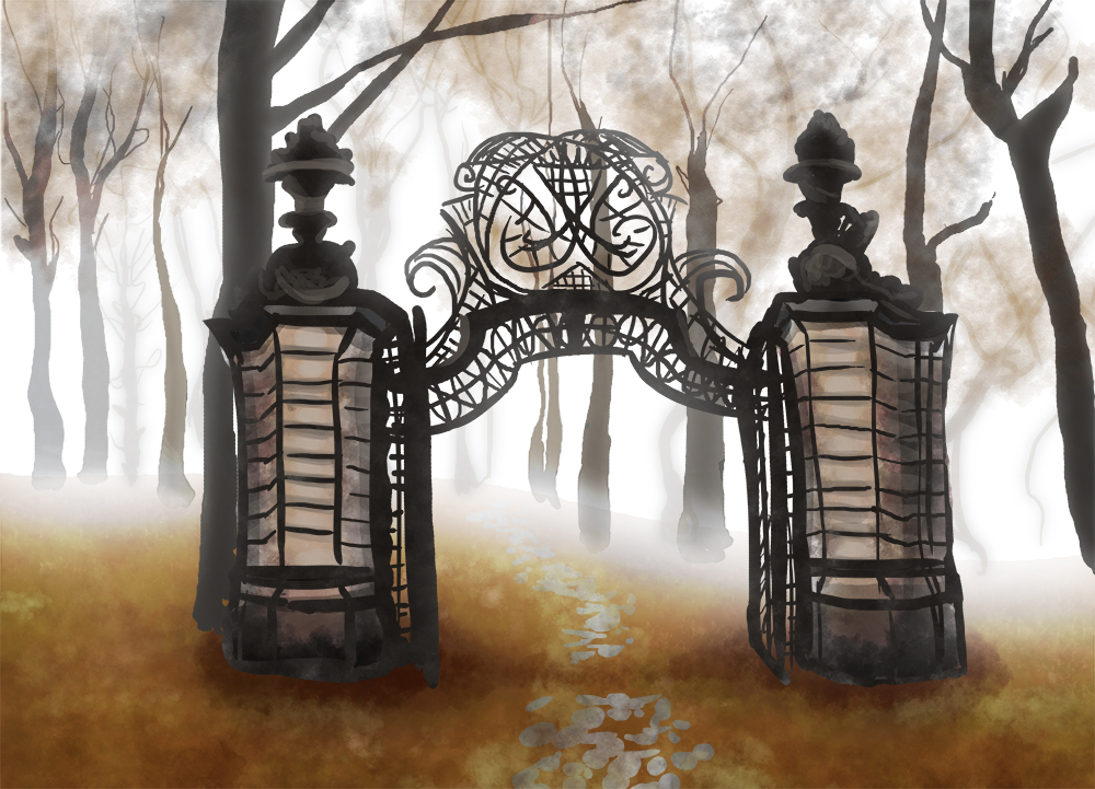 Cemetery gates - Cemetery Gates PNG