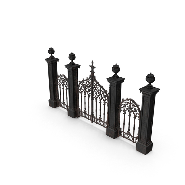 Cemetery Gates PNG Images u0026 PSDs for Download | PixelSquid - S11111445B - Cemetery Gates PNG