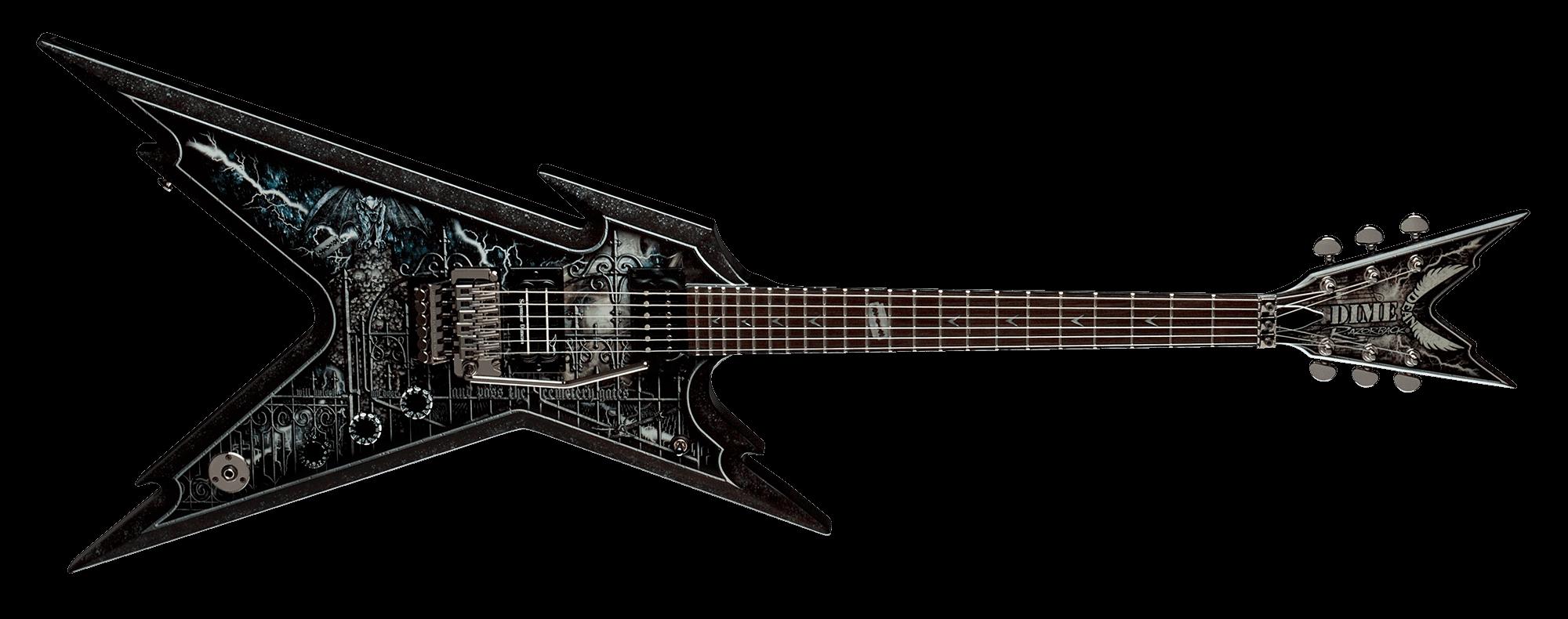 Dean Guitars Image - Cemetery Gates PNG
