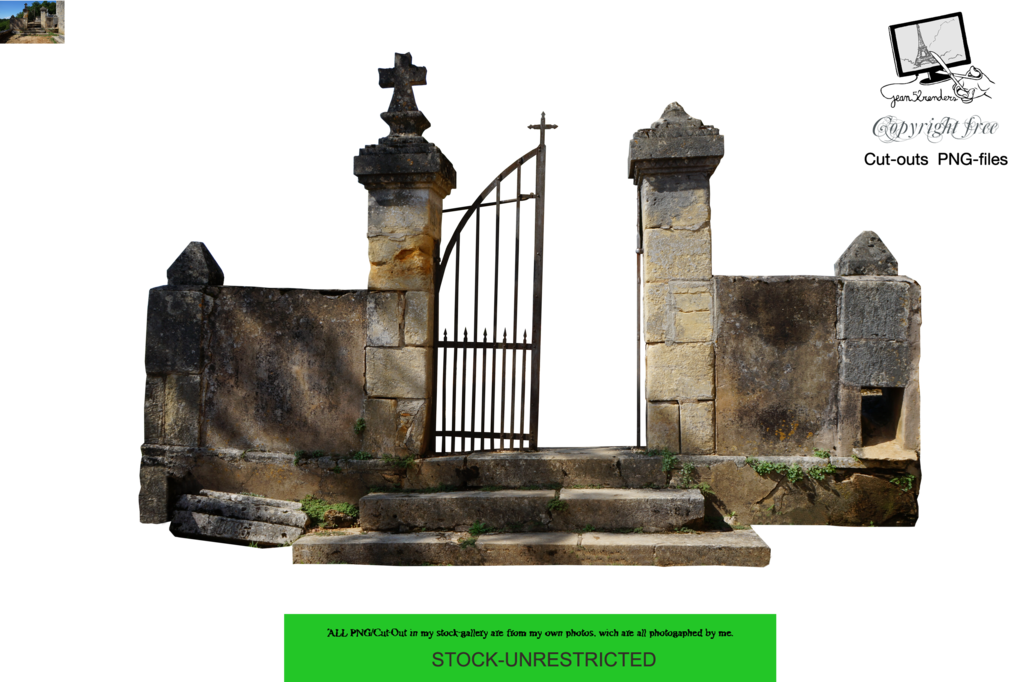 Cemetery Gates PNG
