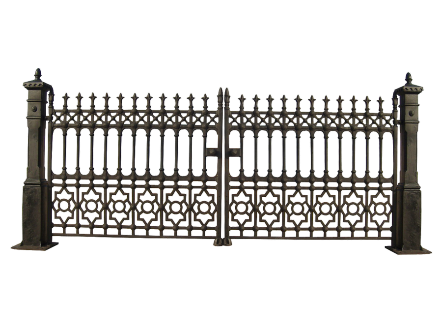 Gate PNG File - Gate PNG - Cemetery Gates PNG