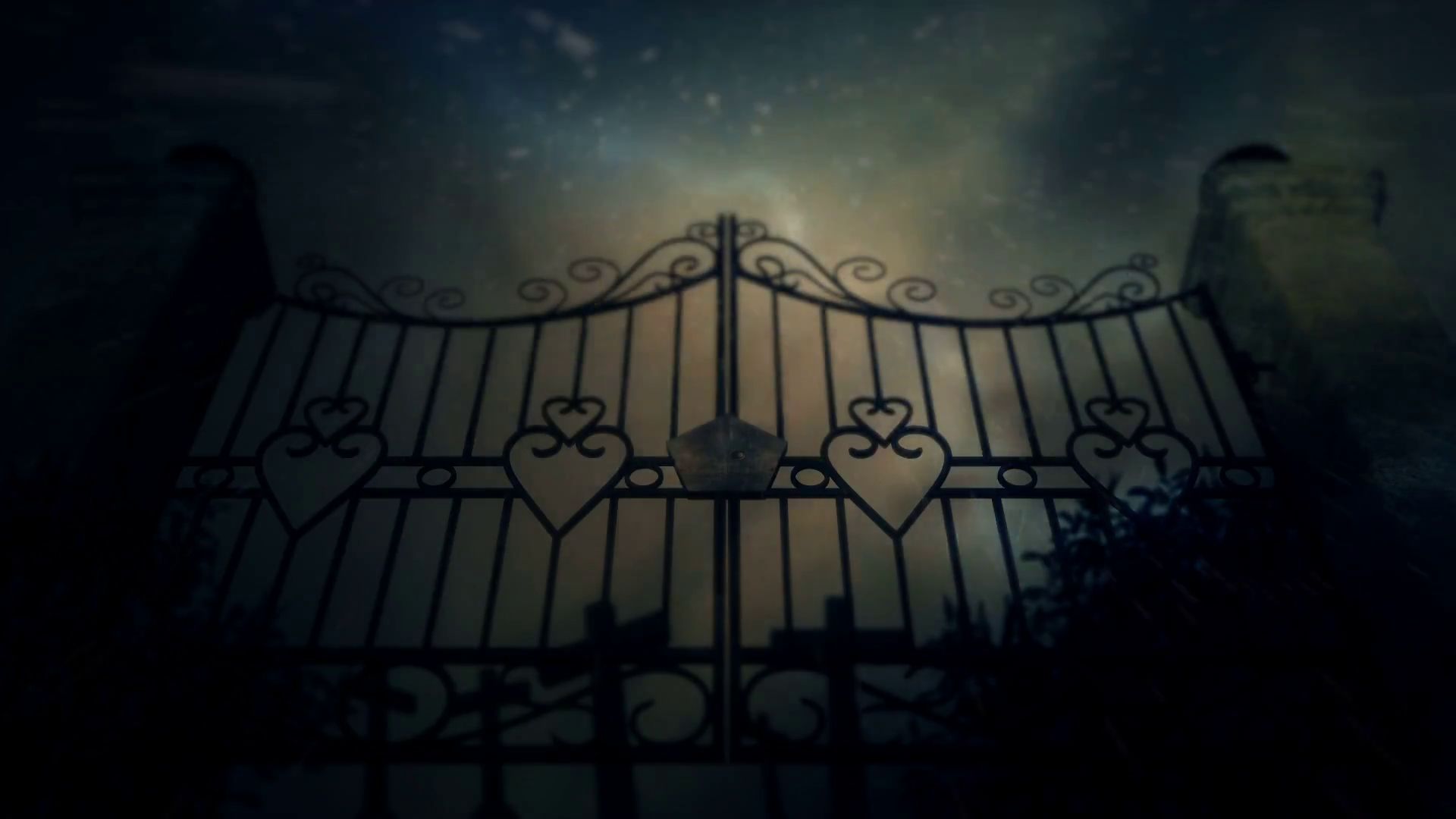 Spooky Cemetery Gates Under a Lightning Storm and Rain with Graves Stock  Video Footage - VideoBlocks - Cemetery Gates PNG