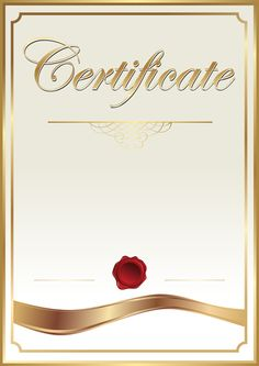 Certificate Template Clip Art PNG Image - Certificate Template PNG