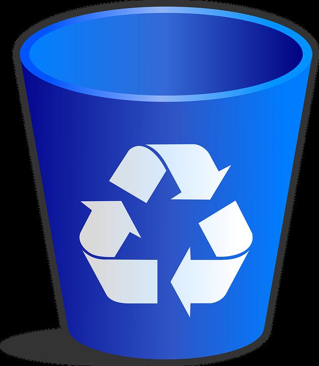 Cestino Spazzatura Riciclaggio · Grafica vettoriale gratuita su Pixabay - Cestino PNG
