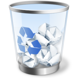 HOW TO REMOVE FILES IN RECYCLE BIN WITH 1X CLICK - Cestino PNG