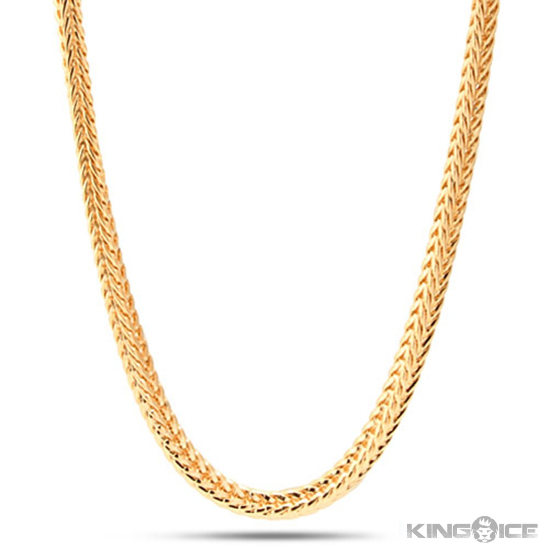 4mm Mens 14K Yellow Gold Plated Franco Chain Hip Hop Jewelry » Gold Chain  Bracelet K Hd Mm Mens K Yellow Gold Plated Franco Chain Hip Hop Jewelry - Chain HD PNG