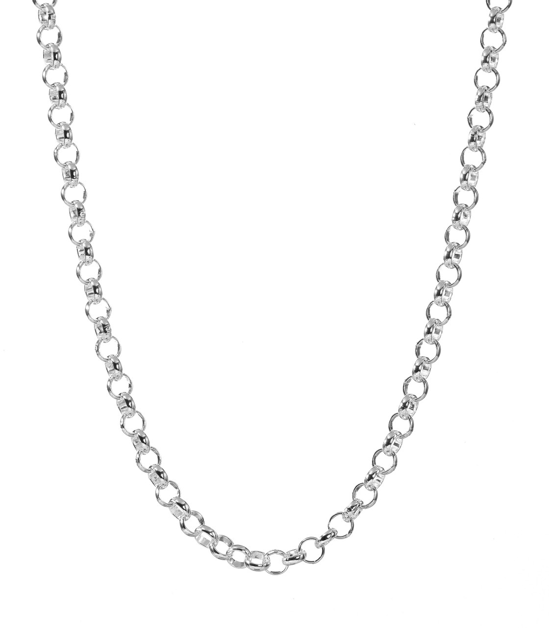 Simple Silver Necklace Chain Necklace Chain Png Preciousjewelrypicture  Awesome - Chain HD PNG