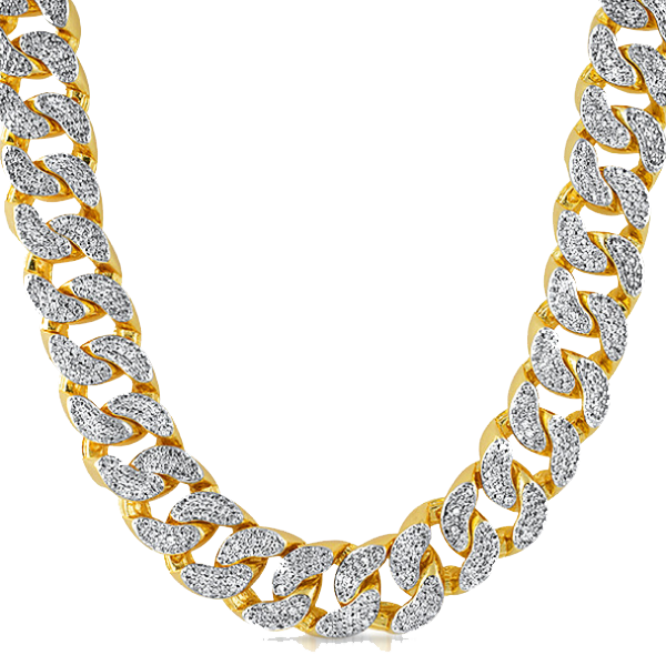 Thug Life Gold Chain PNG HD - Chain HD PNG