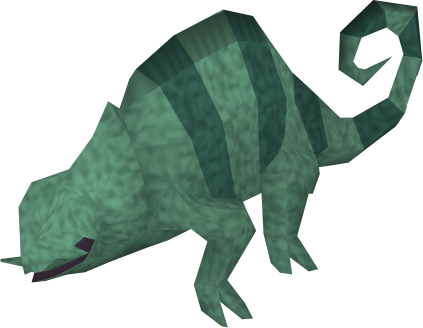 Baby chameleon (swamp).png - Chameleon PNG