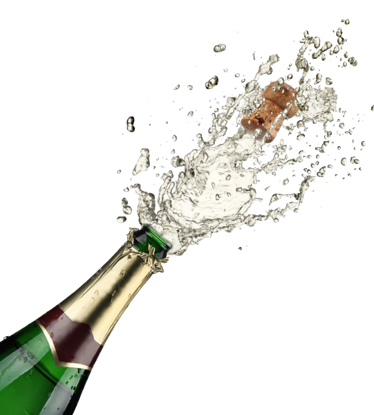 Champagne Popping PNG Free Download - Champagne PNG