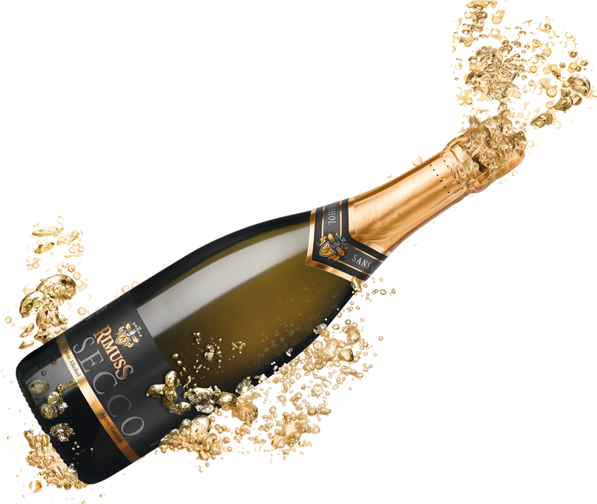 Champagne Popping Transparent Background - Champagne PNG