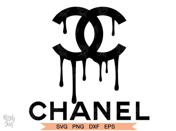 Chanel Drip Logo, Chanel Dripping Logo, Chanel Dripping Clipart Pluspng.com  - Chanel Logo PNG