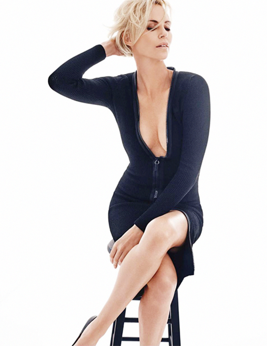 Charlize Theron PNG-PlusPNG.com-850 - Charlize Theron PNG
