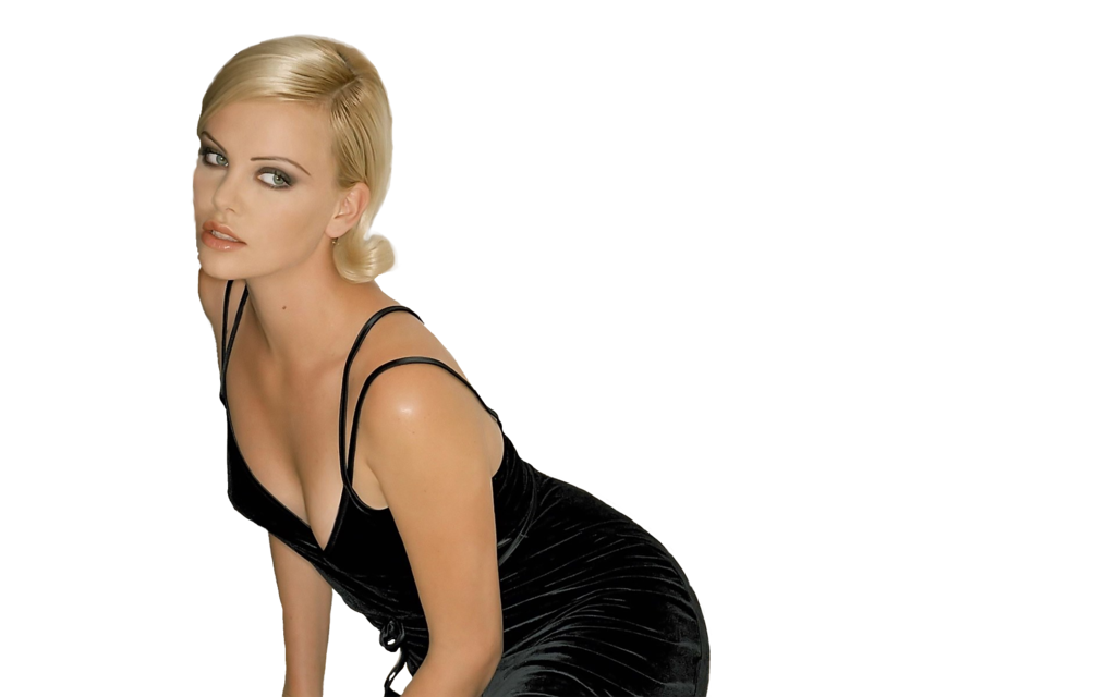 Charlize Theron png-by-decepticon by Decepticon44 PlusPng.com  - Charlize Theron PNG