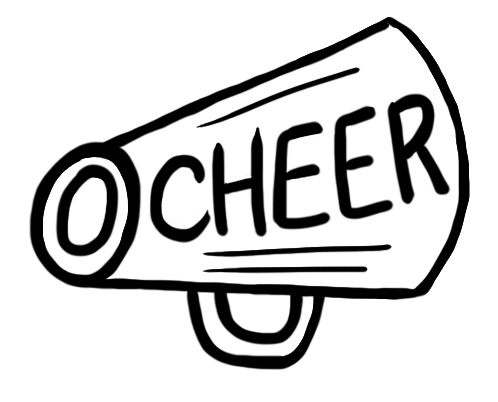 cheer megaphone and poms png transparent cheer megaphone and poms rh pluspng com christmas cheer clipart free cheer bow clipart free
