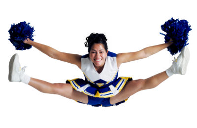 Cheerleading football cheerle