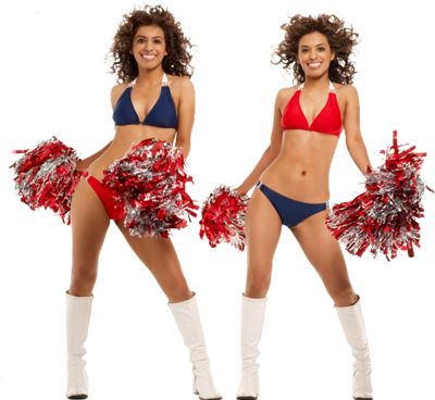 Free cheerleader clipart silh