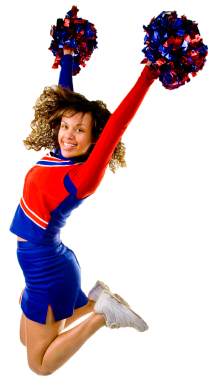 Cheerleading is one of the most popular sports in the United States. An  estimated 3 million people participate in cheerleading ever year, from 6  year-old PlusPng.com  - Cheerleader HD PNG