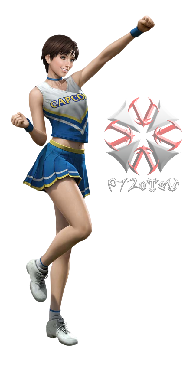 RE0HD - Rebecca Cheerleader Outfit [PNG] by 972oTeV PlusPng.com  - Cheerleader HD PNG