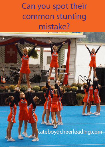 the most common stunt mistake u201c - Cheerleading Base PNG