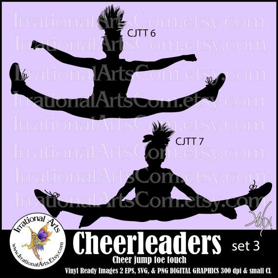 Cheerleading PNG Jumps - 68846