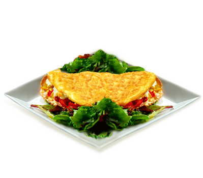 Fine-Herb-Cheese-Omelet - Cheese Omelette PNG