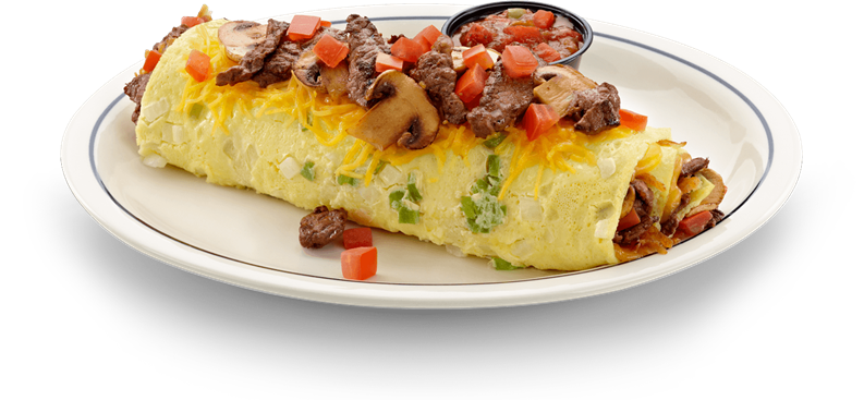. PlusPng.com Veggie Omelet with tomatoes,.png PlusPng.com  - Cheese Omelette PNG