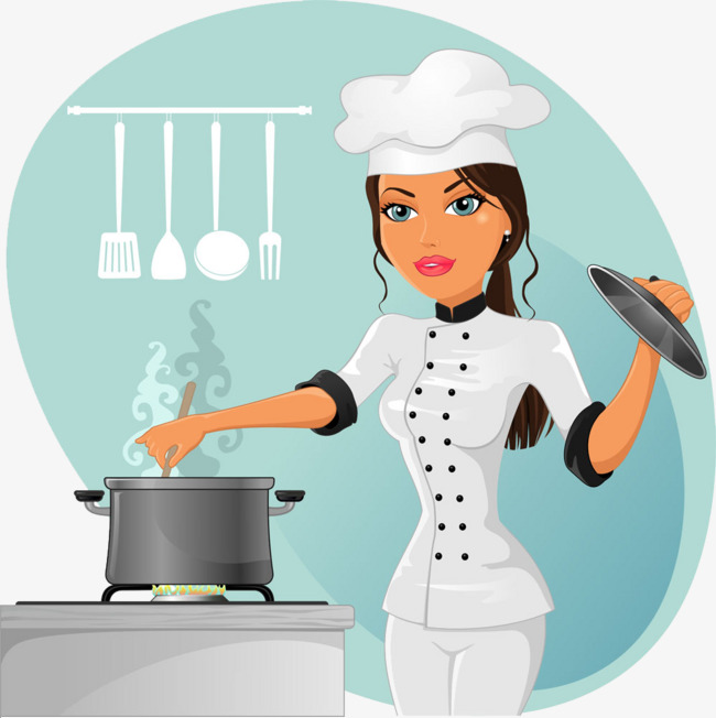 Chef Mujer PNG - 79691