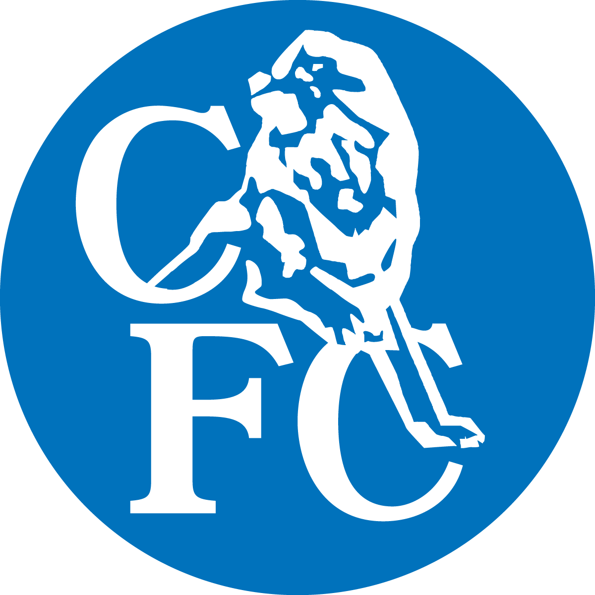 Image - Chelsea FC Logo (white Lion, Blue Disc).png | Logopedia | FANDOM  Powered By Wikia - Chelsea PNG