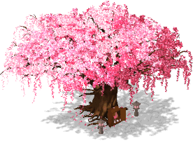 Tree of Cherry Blossom 3-SE.png - Cherry Blossom Tree PNG HD