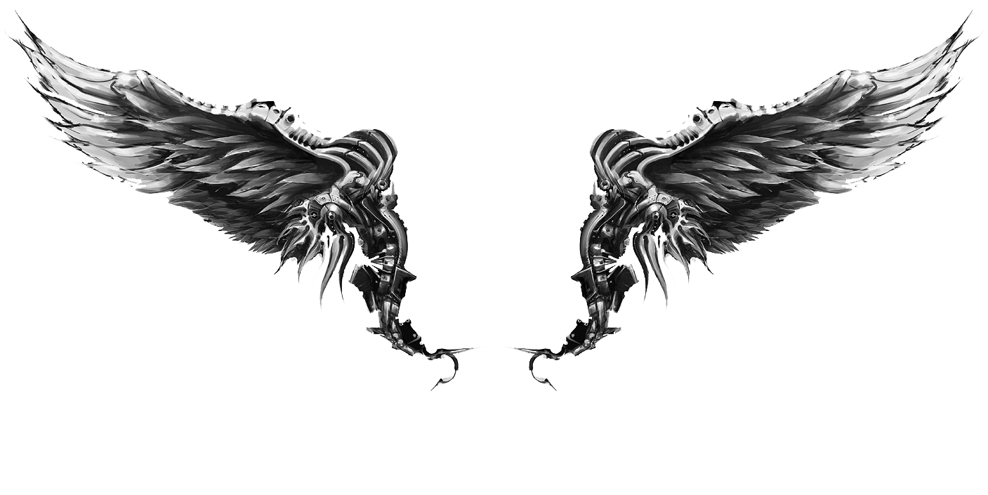 Chest Tattoo PNG Photo - Wings Tattoos PNG