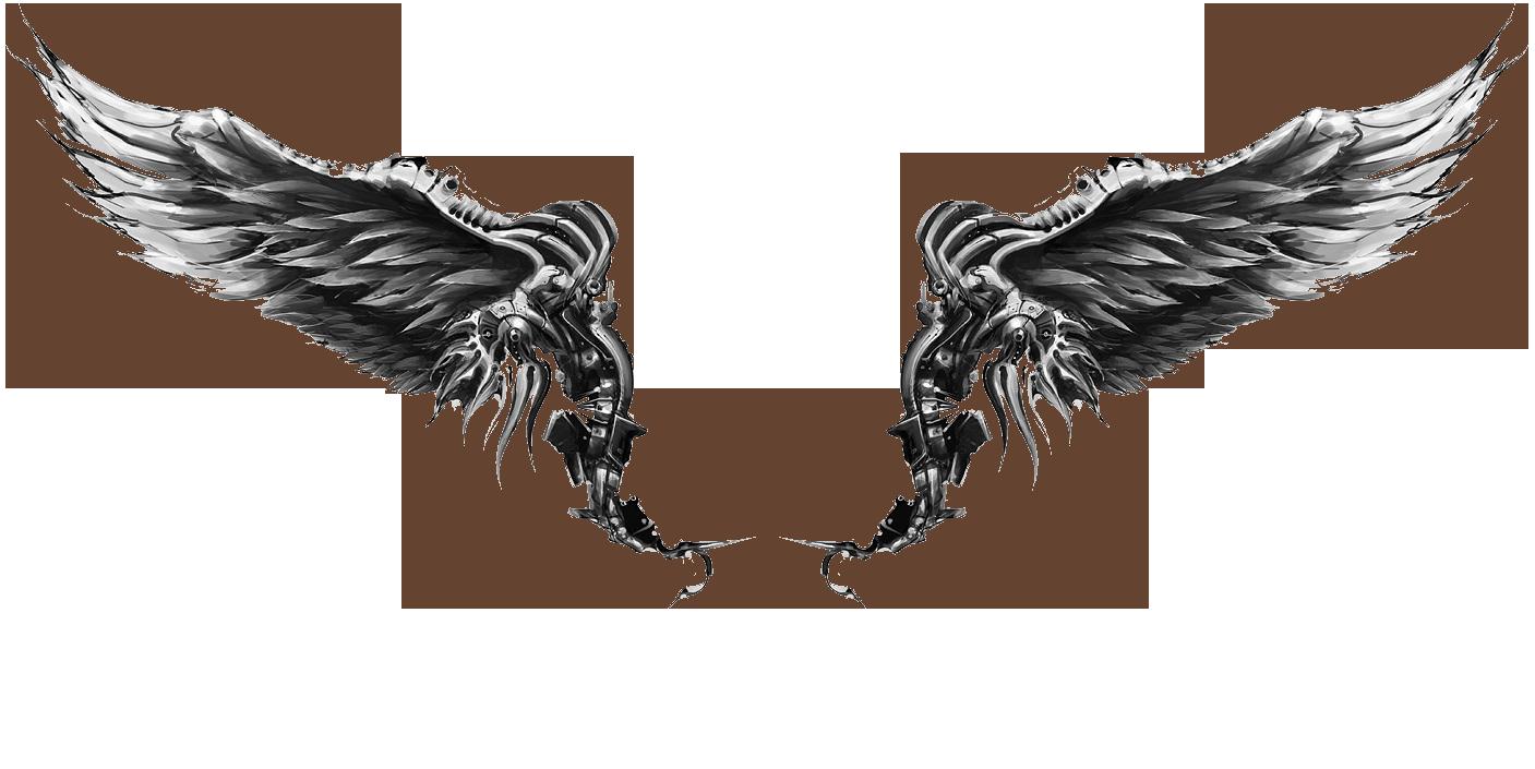 Wings Tattoos PNG - 4610